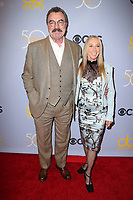 04 October 2017 - Los Angeles, California - Tom Selleck, Jillie Mack. CBS &quot;The Carol Burnett Show 50th Anniversary Special&quot;. <br /> CAP/ADM/FS<br /> &copy;FS/ADM/Capital Pictures
