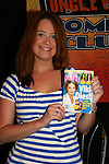 One Life To Live's surprise guest Melissa Archer entertained fans on July 13, 2008 at Uncle Vinnie's Comedy Club in Point Pleasant, New Jersey. There was entertainment, q & a, and signing of photos and Michael's new book,. a graphic novel (which Melissa is holding) written by Michael and artwork by Christopher Shy. (Photo by Sue Coflin/Max Photos)