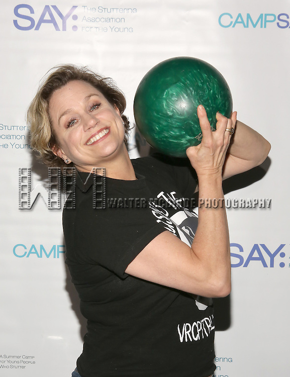 Cady Huffman attends the 5th Annual Paul Rudd All-Star Bowling Benefit for (SAY) at Lucky Strike Lanes on February 13, 2017 in New York City.