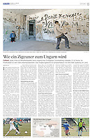 Die Presse (Austrian daily) on Hungarian Roma, 2011.06.08. Photo: Lubomir Kotek