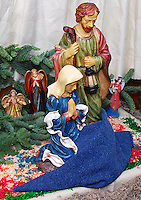 "The nativity at Las Posadas (Spanish for ""The Inns"") symbolizes the trials that Mary and Joseph endured before finding a place to stay where Jesus could be born."