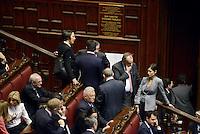 Roma, 18 Aprile 2013.Camera dei Deputati.Votazione del Presidente della Repubblica a camere riunite.Deputati e Senatori del PDL.Mara Carfagna