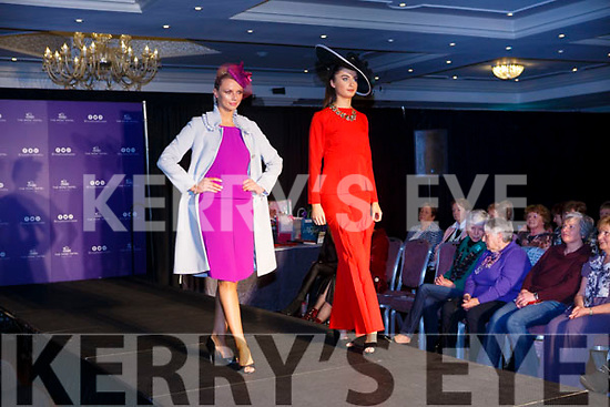 Modelling fashions from Jasmine Boutique in the Shaws Fashion Show at The Rose Hotel on Thursday night