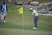 Francesco Molinari (ITA) chips on to 11 during day 3 of the World Golf Championships, Dell Match Play, Austin Country Club, Austin, Texas. 3/23/2018.<br /> Picture: Golffile | Ken Murray<br /> <br /> <br /> All photo usage must carry mandatory copyright credit (&copy; Golffile | Ken Murray)