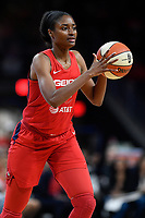 Washington, DC - August 25, 2019: Washington Mystics forward LaToya Sanders (30) during second half action of game between the New York Liberty and the Washington Mystics at the Entertainment and Sports Arena in Washington, DC. The Mystics defeated New York 101-72. (Photo by Phil Peters/Media Images International)