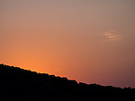 8.31.12 - Sunset Over The Ridge...