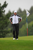 Richard McEvoy (ENG) on the 10th green during Round 2 of the D+D Real Czech Masters at the Albatross Golf Resort, Prague, Czech Rep. 01/09/2017<br /> Picture: Golffile | Thos Caffrey<br /> <br /> <br /> All photo usage must carry mandatory copyright credit     (&copy; Golffile | Thos Caffrey)