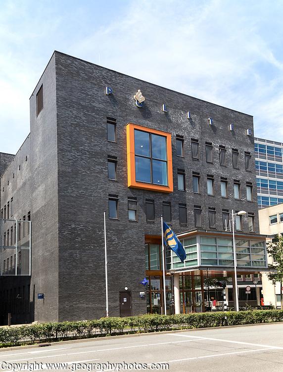 Modern architecture Police station, Amersfoort, Netherlands