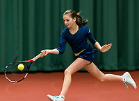 Wateringen, The Netherlands, March 9, 2018,  De Reijenhof , NOJK 12/16 years, Rose Marie Nijkamp (NED)<br /> Photo: www.tennisimages.com/Henk Koster