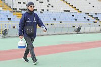 20190306 - LARNACA , CYPRUS : Italian secretary Elide Martini pictured<br />  during a women's soccer game between Korea DPR and Italy , on Wednesday 6 March 2019 at the GSZ Stadium in Larnaca , Cyprus . This is final of  the Cyprus Womens Cup 2019 , a prestigious women soccer tournament as a preparation on the FIFA Women's World Cup 2019 in France . PHOTO SPORTPIX.BE | STIJN AUDOOREN