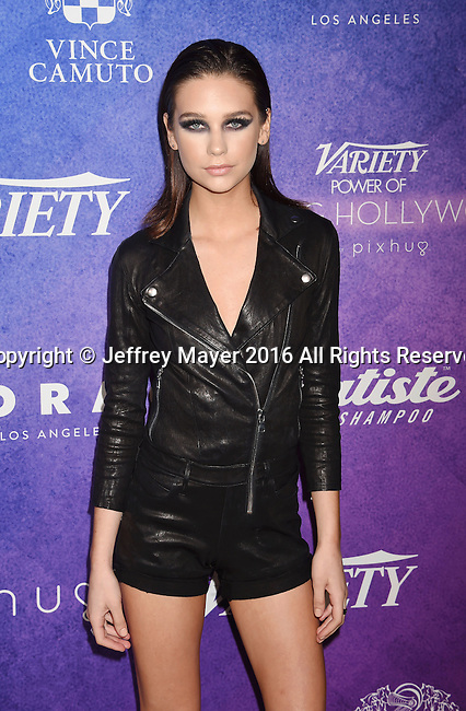 HOLLYWOOD, CA - AUGUST 16: Social Influencer Amanda Steele arrives at Variety's Power Of Young Hollywood at NeueHouse Hollywood on August 16, 2016 in Los Angeles, California.