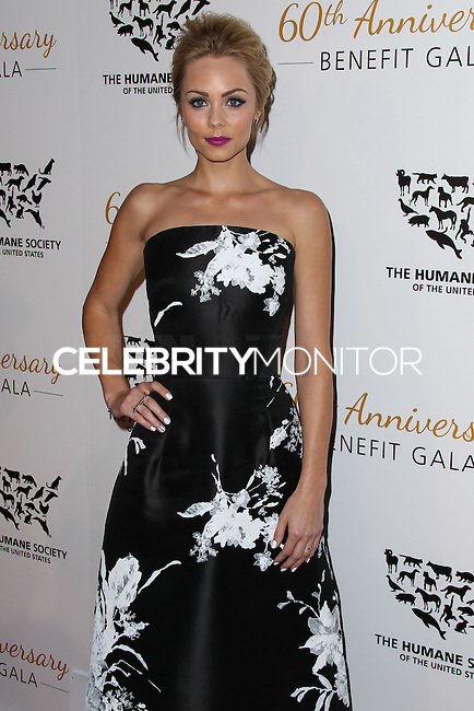 BEVERLY HILLS, CA, USA - MARCH 29: Laura Vandervoort at The Humane Society Of The United States 60th Anniversary Benefit Gala held at the Beverly Hilton Hotel on March 29, 2014 in Beverly Hills, California, United States. (Photo by Xavier Collin/Celebrity Monitor)