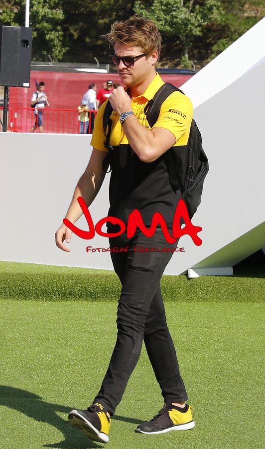 Nico Hulkemberg (GER) Renault Sport at  Formula 1, Spanish Grand Prix, Barcelona.