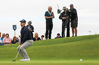 Brandon Stone (RSA) on the 18th green during the 3rd round of the Dubai Duty Free Irish Open, Lahinch Golf Club, Lahinch, Co. Clare, Ireland. 06/07/2019<br /> Picture: Golffile | Thos Caffrey<br /> <br /> <br /> All photo usage must carry mandatory copyright credit (© Golffile | Thos Caffrey)