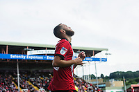 Lincoln City's Jorge Grant<br /> <br /> Photographer Chris Vaughan/CameraSport<br /> <br /> The EFL Sky Bet League One - Lincoln City v Fleetwood Town - Saturday 31st August 2019 - Sincil Bank - Lincoln<br /> <br /> World Copyright © 2019 CameraSport. All rights reserved. 43 Linden Ave. Countesthorpe. Leicester. England. LE8 5PG - Tel: +44 (0) 116 277 4147 - admin@camerasport.com - www.camerasport.com