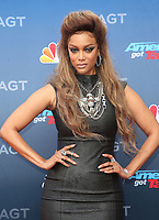 12 March 2018 - Pasadena, California - Tyra Banks. America&rsquo;s Got Talent Red Carpet Kickoff held at The Pasadena Civic Auditorium. <br /> CAP/ADM/FS<br /> &copy;FS/ADM/Capital Pictures