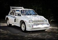BNPS.co.uk (01202 558833)<br /> Pic: Silverstone/BNPS<br /> <br /> Road legal rally legend 6R4 Metro - Yours for &pound;200,000.<br /> <br /> Mega Bucks for Mini Metro <br /> <br /> They may have had a reputation as a naff hatchback in the 1980s but a time warp rally version of the Mini Metro has emerged for sale for a staggering &pound;200,000.<br /> <br /> The MG Metro 6R4 model was built in 1985 and has done just 175 miles in its lifetime.<br /> <br /> It has spent time in several esteemed motoring collections and is now set to sell once again with Silverstone Auctions of Ashorne, Warwicks.