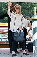 VENICE, ITALY - September 01: Meryl Streep arrives in Darsena Excelsior during the 76th Venice Film Festival  on September 01, 2019 in Venice, Italy. (Photo by Mark Cape/Insidefoto)<br /> Venezia 01/09/2019