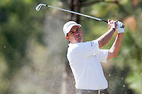 November 14, 2010: Tom Pernice, Jr. tee shot on the par 3 third of the Magnolia course during third round golf action from The Children's Miracle Network Hospitals Classic held at The Disney Golf Resort in Lake Buena Vista, FL.