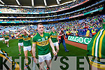 Mark Griffin. Kerry players celebrate their victory over Donegal in the All Ireland Senior Football Final in Croke Park Dublin on Sunday 21st September 2014.
