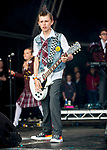 Andrew Lloyd Webber's School Of Rock at Camp Bestival 2017, Lulworth Castle, Dorset photo by Brian Jordan