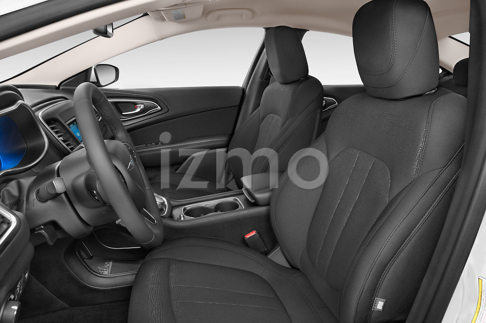 Front seat view of a 2015 Chrysler 200 Limited 4 Door Sedan 2WD Front Seat car photos