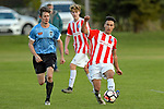 NELSON, NEW ZEALAND June 22: Div 1 Football, Sprig & Fern Tahuna v F C Nelson, Tahunanui, Nelson, June 22, 2019, (Photos by Barry Whitnall/Shuttersport Limited)