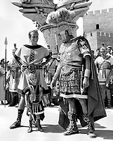 Ben-Hur (1959) <br /> Jack Hawkins, Charlton Heston &amp; Fraser Clarke Heston<br /> *Filmstill - Editorial Use Only*<br /> CAP/KFS<br /> Image supplied by Capital Pictures