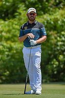 Louis Oosthuizen (RSA) watches his tee shot on 2 during Round 4 of the Zurich Classic of New Orl, TPC Louisiana, Avondale, Louisiana, USA. 4/29/2018.<br /> Picture: Golffile | Ken Murray<br /> <br /> <br /> All photo usage must carry mandatory copyright credit (&copy; Golffile | Ken Murray)