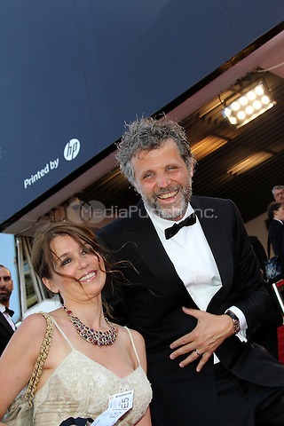 ../Muriel Cousin and Stephane Guillon attend the 'Lawless' Premiere during the 65th Annual Cannes Film Festival at Palais des Festivals on May 19, 2012 in Cannes, France.  .. / Mediapunchinc