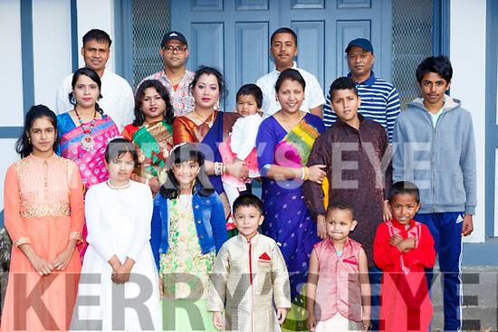 Killarney Hindu's celebrating their Krisna festival in Killarney Cultural Centre on Monday evening