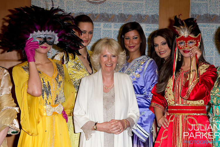 The Prince of Wales, and The Duchess of Cornwall begin a three day official visit to Morocco..The Duchess visits The Villa Des Arts, in Rabat, and view a Kaftan Fashion display