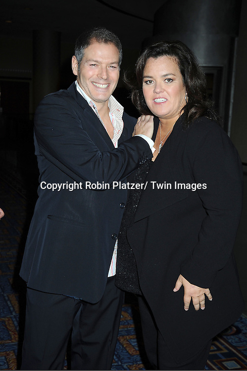Kevin Spiritas and Rosie O'Donnell attending The Rosie's Theatre Kids Gala on September 19, 2011 at The New York Marriott Marquis Hotel in New York City.