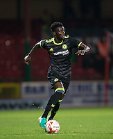 Joseph Colley of Chelsea during the The Checkatrade Trophy match between Swindon Town and Chelsea U23 at the County Ground, Swindon, England on 13 September 2016. Photo by Andy Rowland.
