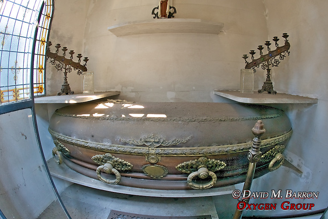 Coffin Inside Tomb, La Recoleta Cemetery