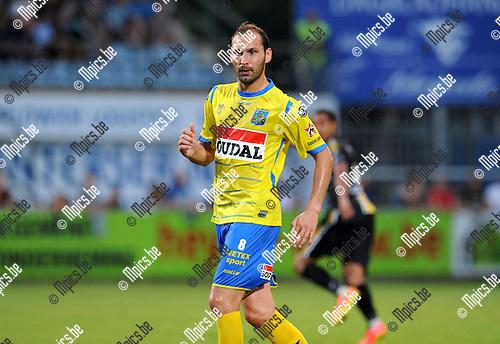2014-07-26 / Voetbal / seizoen 2014-2015 / KVC Westerlo - Sporting Lokeren / Maxime Annys<br /><br />Foto: mpics.be