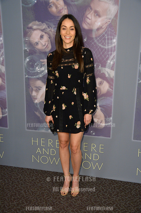 Fernanda Andrade at the premiere for HBO's &quot;Here and Now&quot; at The Directors Guild of America, Los Angeles, USA 05 Feb. 2018<br /> Picture: Paul Smith/Featureflash/SilverHub 0208 004 5359 sales@silverhubmedia.com