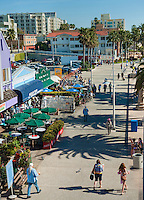 Santa Monica CA, Big Deans, Restaurant Bar, Ocean Front Walk, city, New Silicon of the Pacific, beach, healthy lifestyle,  world-famous beach, bike trail, outdoor recreation, activities. California, North America