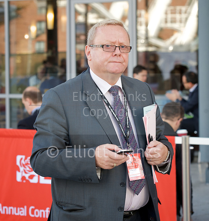 Labour Annual Conference<br /> at the Echo Arena &amp; BT Convention Centre, Liverpool, Great Britain <br /> 25th to 28th September 2011 <br /> <br /> Ray Edward Harry Collins, Baron Collins of Highbury (born ca. 1955) is a British life peer and trade unionist who was appointed General Secretary of the Labour Party on 12 June 2008<br /> <br /> Photograph by Elliott Franks