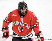 Denis Chisholm (Northeastern - 24) - The Boston College Eagles defeated the visiting Northeastern University Huskies 7-1 on Friday, March 9, 2007, to win their Hockey East quarterfinals matchup in two games at Conte Forum in Chestnut Hill, Massachusetts.