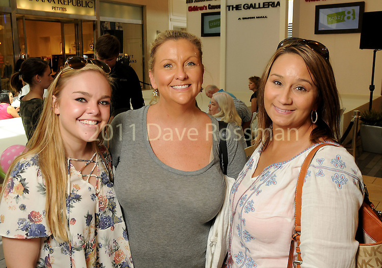 From left: Porter Prather, Patti Cole and Rebecca Kessler at the M.D. Anderson Back to School Fashion show at the Galleria Saturday Aug. 06,2016.(Dave Rossman Photo)