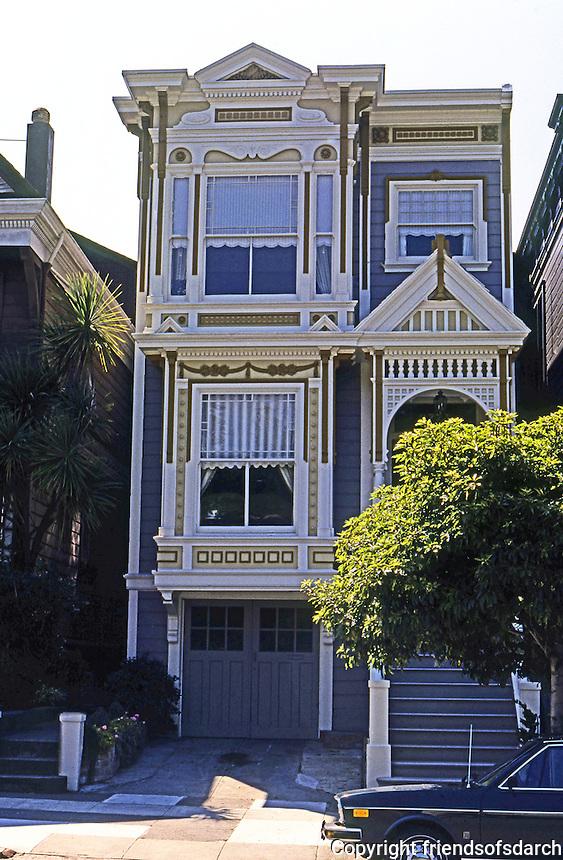 San Francisco: House, Sacramento St. (?)  Photo '78.