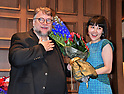 "Director Guillermo del Toro attends the press conference ""The Shape of Water"" in Tokyo"