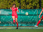 29 September 2013: Stony Brook University Seawolves Midfielder Danielle Fuller, a Sophomore from Staten Island, NY, in action against the University of Vermont Catamounts at Virtue Field in Burlington, Vermont. The Lady Seawolves defeated the Catamounts 2-1 in America East play. Mandatory Credit: Ed Wolfstein Photo *** RAW (NEF) Image File Available ***
