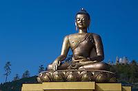 Sitting Buddha statue, Thimpu, Bhutan