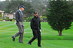 Jim Furyk & Lynn Swan at Pebble Beach GC