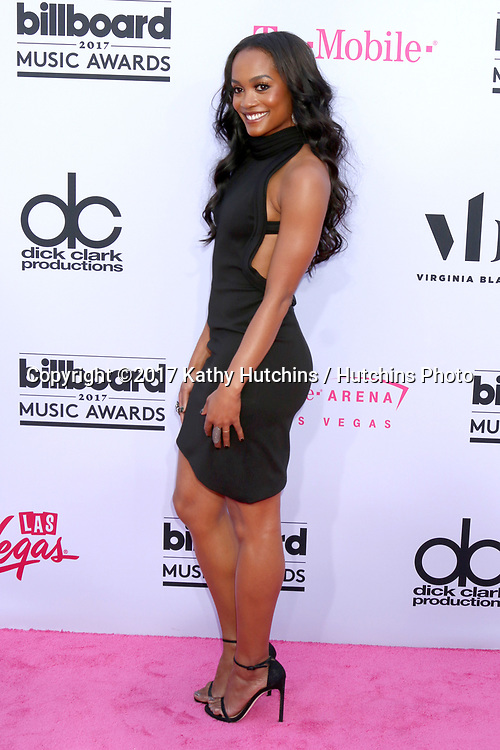 LAS VEGAS - MAY 21:  Rachel Lindsay at the 2017 Billboard Music Awards - Arrivals at the T-Mobile Arena on May 21, 2017 in Las Vegas, NV