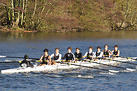 076 .SPS-Doyle .J15A.8+ .St Pauls Sch BC. Wallingford Head of the River. Sunday 27 November 2011. 4250 metres upstream on the Thames from Moulsford railway bridge to Oxford Universitiy's Fleming Boathouse in Wallingford. Event run by Wallingford Rowing Club..