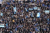 Tifosi Atalanta, fans, supporters<br /> Bergamo 26-12-2018  Stadio Atleti Azzurri d'Italia <br /> Football Campionato Serie A 2018/2019 <br /> Atalanta - Juventus<br /> Foto Cesare Purini / Insidefoto