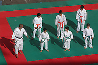Esibizione di Karate in Piazza. Exhibition of Karate on Square...